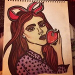 artpop helen green inspired drawing